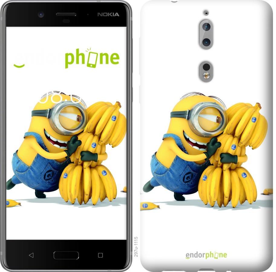 Чехол для телефона Nokia 8 Миньйоны 3