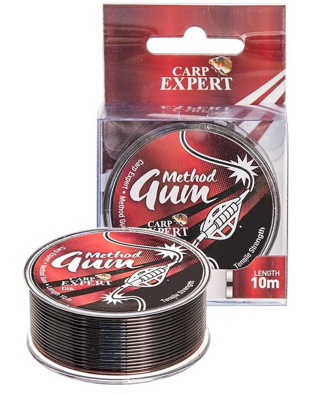 Амортизатор для фидера Energofish Carp Expert Method Gum Brown 10m 0.8mm 14kg (31600085)