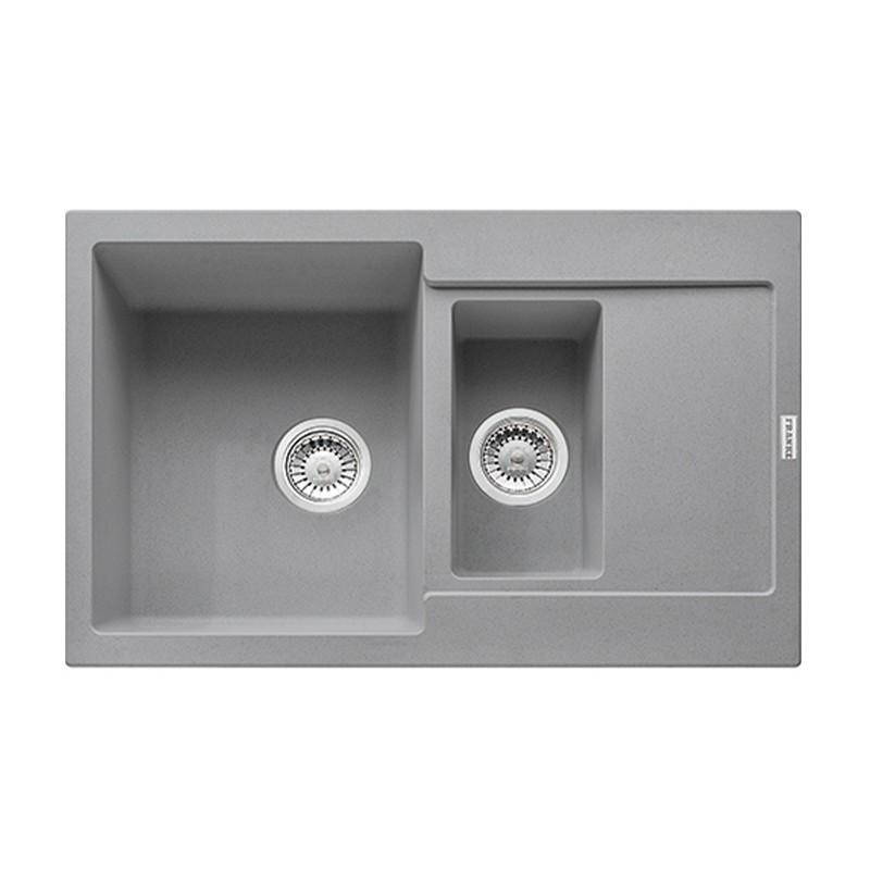 Кухонная мойка Franke Maris MRG 651-78 серый камень