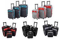 Набор чемоданов на колесах Deli 101, фото 1