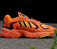 Мужские и женские кроссовки Adidas Yung-1 Orange Navy