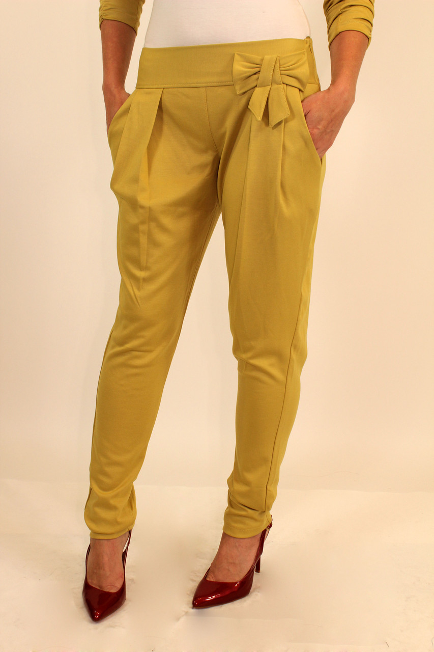 Трикотажные брюки на резинке 42-48 р