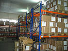 Стеллаж складской фронтальный H4500хL2700х1100 мм(пол.+2 уровня по 3000 кг на уровень), стеллаж для паллет, фото 7