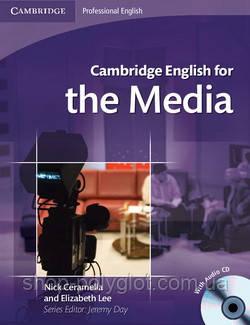Cambridge English for the Media + Audio CD
