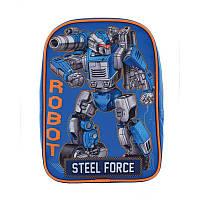 Рюкзак детский 1 Вересня K-18 Steel Force (556427), фото 1