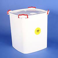 Контейнер для сбора медицинских отходов, 47 л