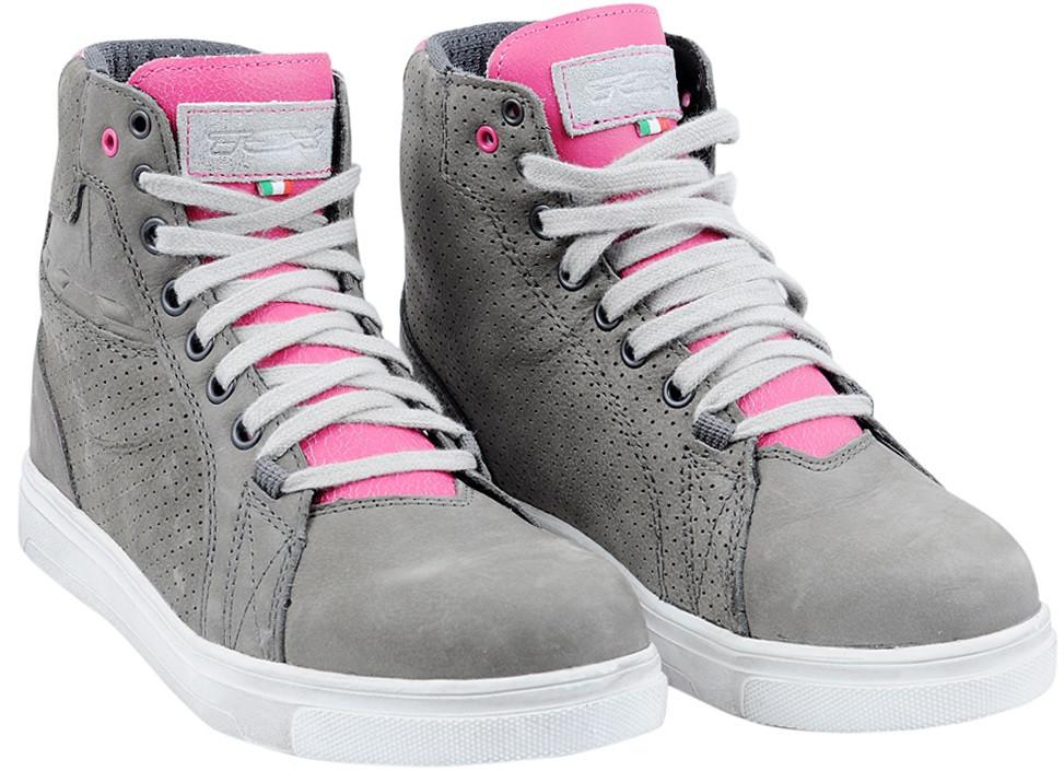 Мотообувь TCX Street Ace Lady Air сірий/рожевий, 36