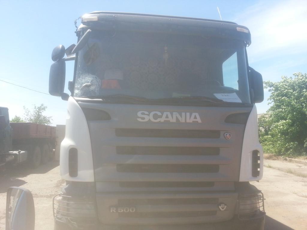 Замена лобового стекла на грузовике Scania R 500 (серия 5) в Орджоникидзе