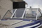 Ветровое стекло для моторной лодки Крым Премиум К материал СТЕКЛО Krym Premium k, фото 3