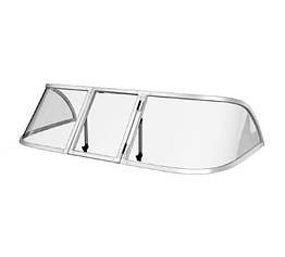 Ветровое стекло Обь 1 (Стандарт П) материал ПОЛИКАРБОНАТ Ob 1