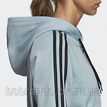 Женская толстовка adidas MUST HAVES 3-STRIPES W (АРТИКУЛ:DW9693), фото 3