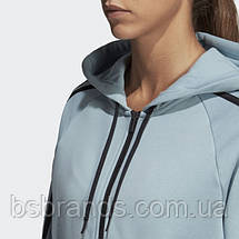 Женская толстовка adidas MUST HAVES 3-STRIPES W (АРТИКУЛ:DW9693), фото 2