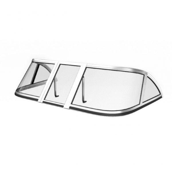 Ветровое стекло Казанка 5М2,3,4 (Элит А) материал АКРИЛ Kaz Elit K