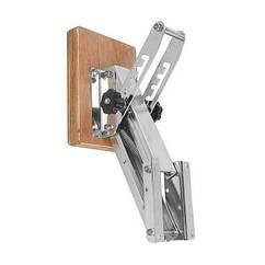 Крепление (навесной транец) нержавейка для лодочного мотора 15-40кг пластина деревоо 03501005W