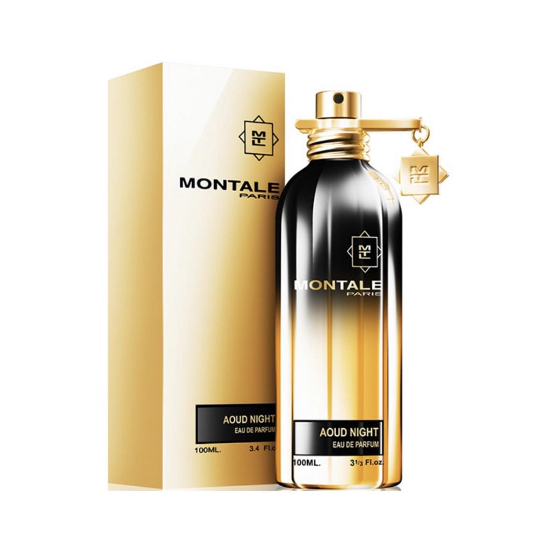 Удовые нишевые духи тестер MONTALE Aoud Night 100ml  (Монталь Уд Найт) парфюмированная вода с пачули