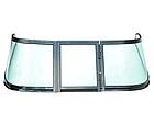Ветровое стекло для моторной лодки GALA Ob3 материал каленое зеленое стекло, фото 2