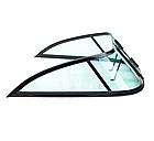 Ветровое стекло для моторной лодки GALA Ob3 материал каленое зеленое стекло, фото 3