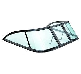 Ветровое стекло GALA Progress, материал каленое зеленое стекло