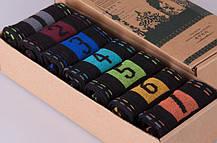 Оригинальный набор мужских  носков в коробке подарочный, фото 3