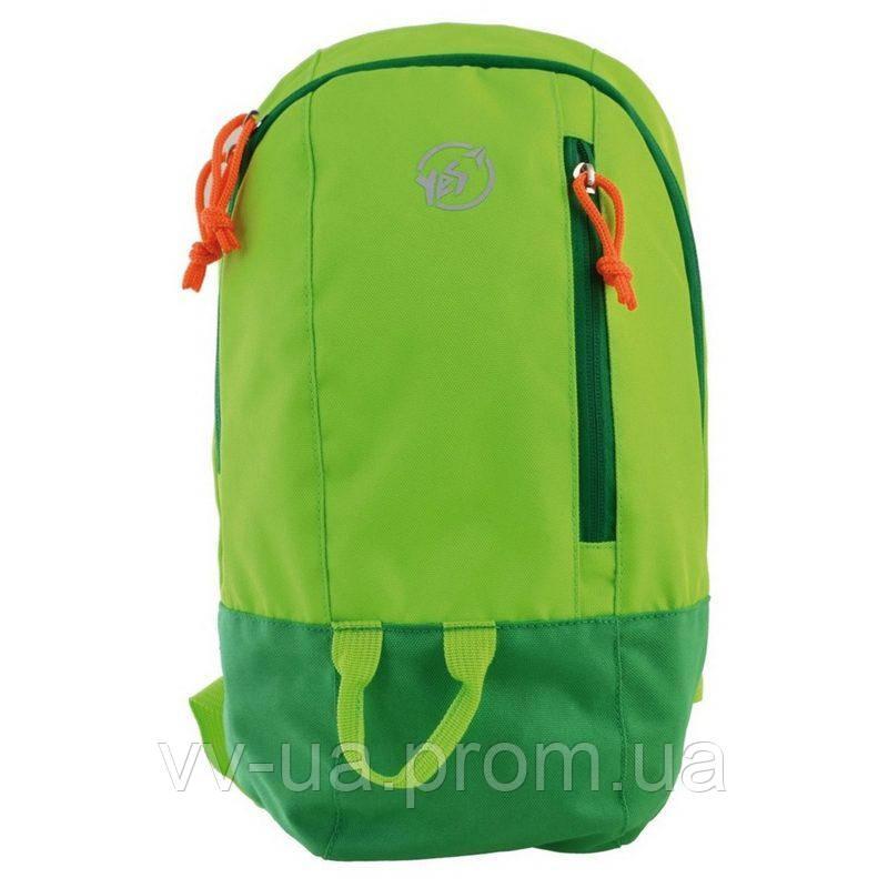 Рюкзак спортивный Yes VR-01, зеленый (557165)