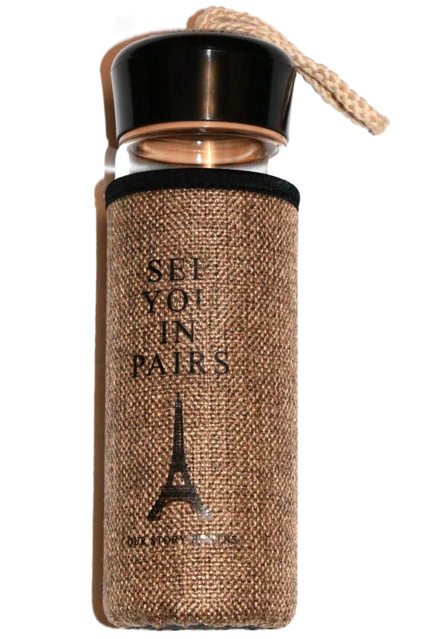 "Дизайнерська пляшка ""See You in Paris"" 420ml"