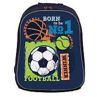 Рюкзак школьный каркасный 1 Вересня H-27 Football winner (557713)