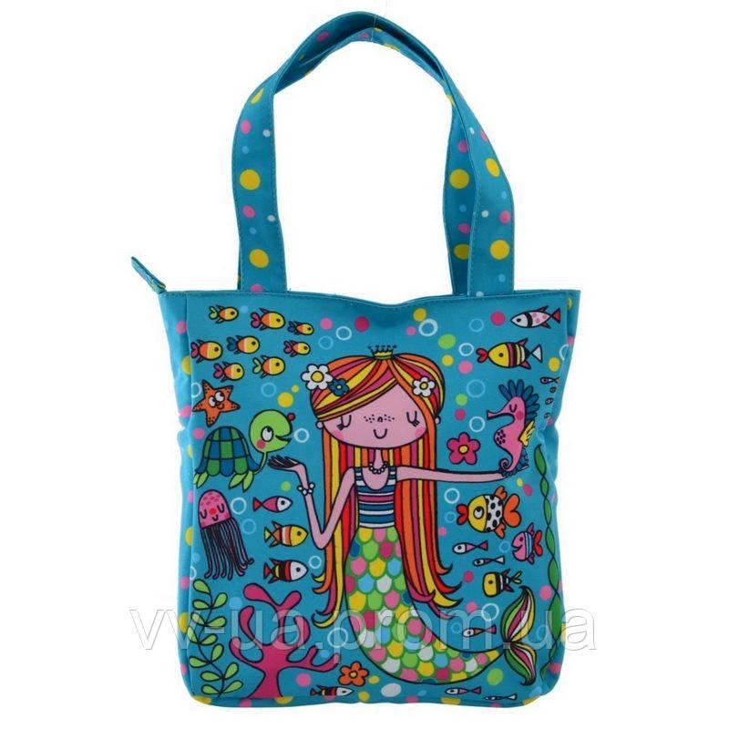 Сумка детская Yes LB-03 Mermaid, для девочек, синий (556477)
