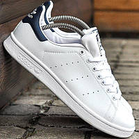Мужские и женские кроссовки Adidas Stan Smith White/Black