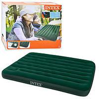 Надувной матрас INTEX 66928 Тёмно- зелёный