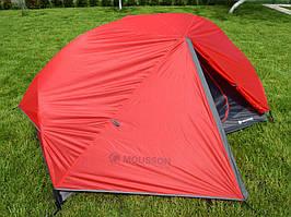 Туристическая палатка двухместная двухслойная MOUSSON AZIMUT 2
