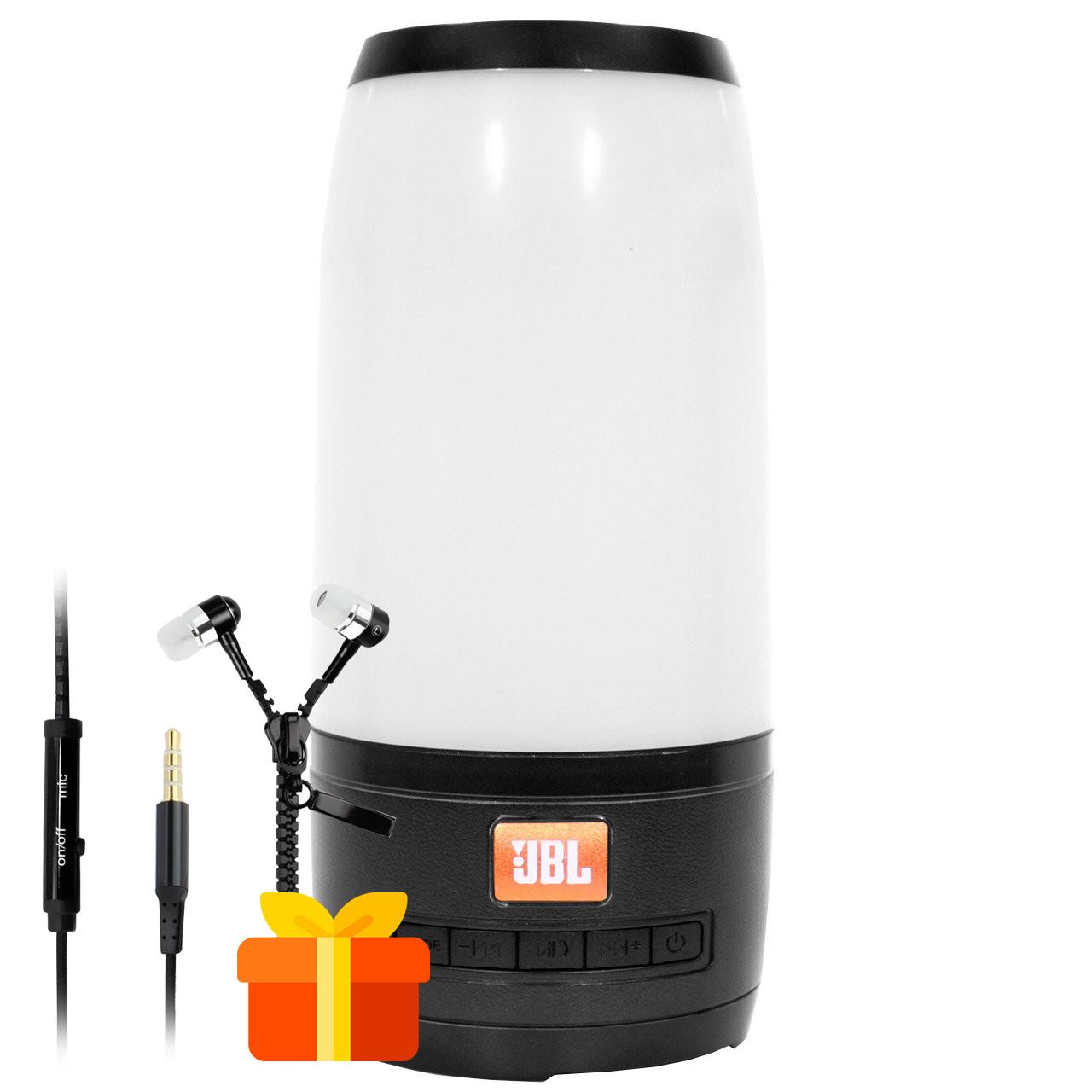 ★Колонка BL JBL Pulse P3 mini Black бумбокс с светомузыкой мощные басы и высокие частоты воспроизведения