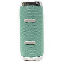 ☛Bluetooth-колонка BL JBL X93 Green портативная беспроводная dual 16 Вт USB переносная с ручкой microSD, фото 2