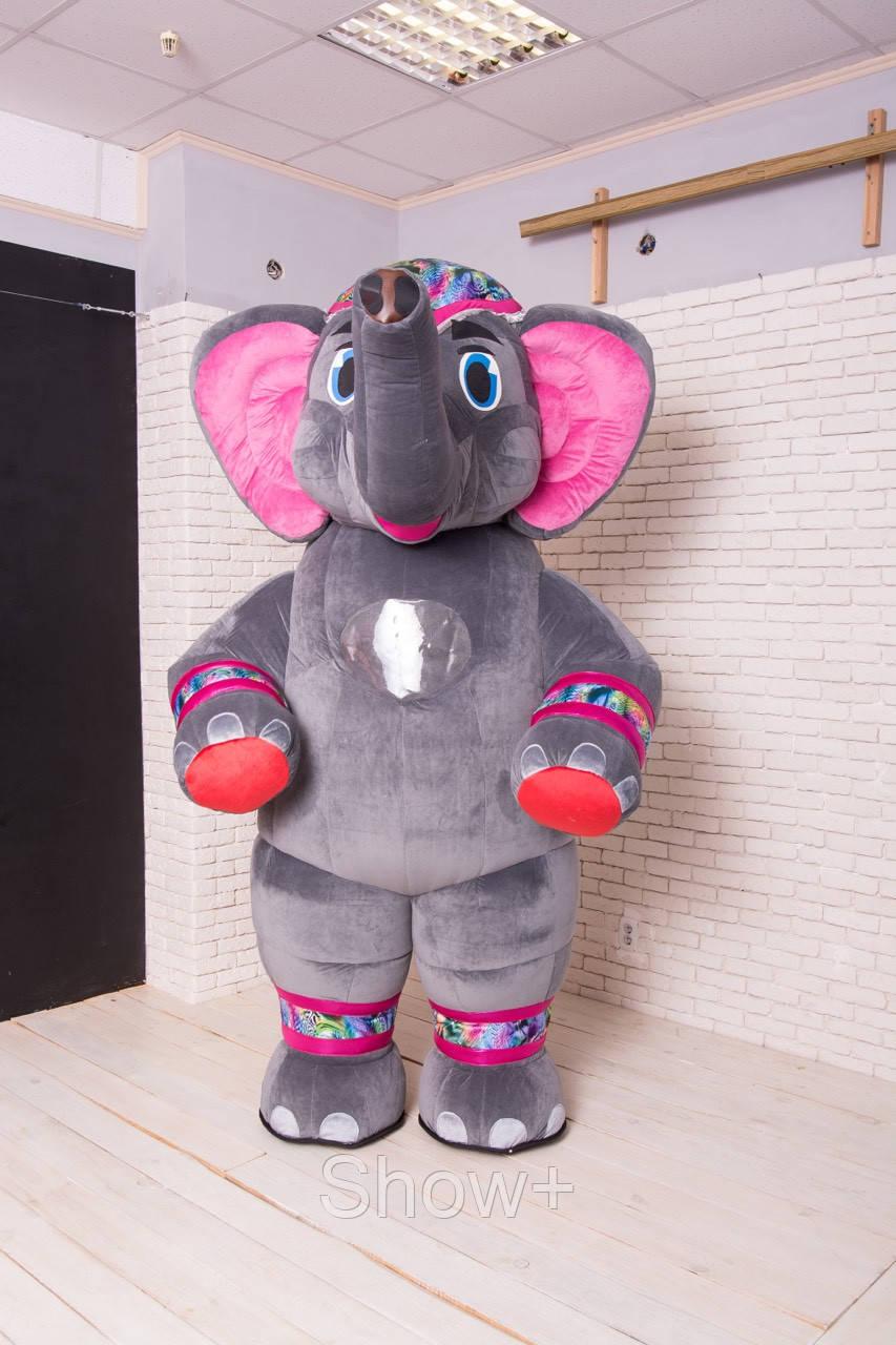 Пневмокостюм, надувной костюм Слон на прокат