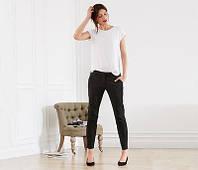 Стильные хлопковые женские брюки 7/8  от тсм Чибо (Tchibo), Германия, размер 44-46, фото 1