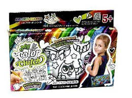 "Набор для творчества ""My Color Clutch"", 3 в 1: клатч пенал раскраска"