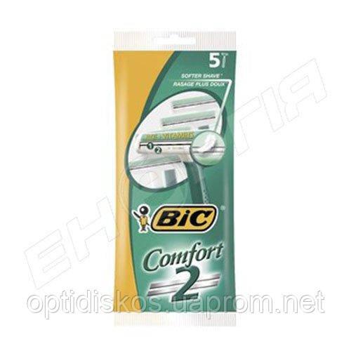 Станок BIC Comfort 2 (5 шт) (0163)