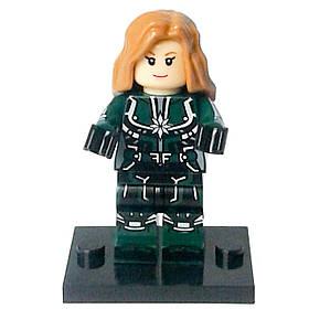Капитан Марвел Мстители Супергерой Аналог лего
