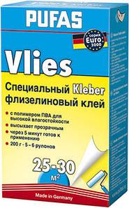 Клей обойный для флизелиновых обоев PUFAS EURO3000 Vlies, 240 г