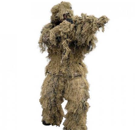 Огнеупорный маскировочный костюм MilTec Anti Fire Desert 11962060, фото 2