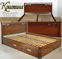Кровать деревянная Кристина