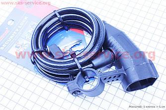 Трос протиугінний під ключ L=1,5 м Ø8мм + кріплення TY520
