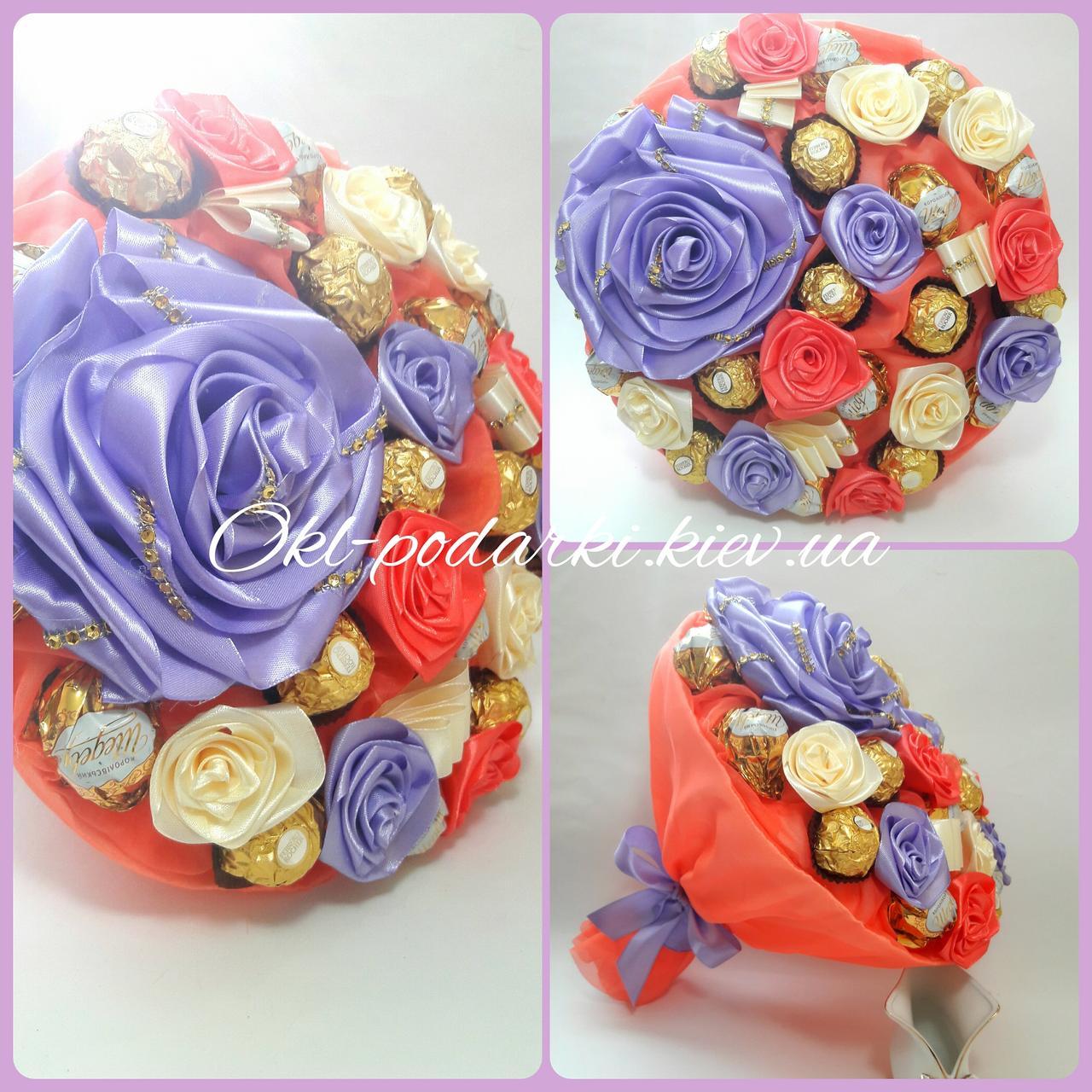 Букет из конфет Нежность
