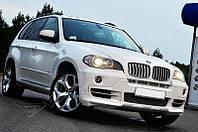 Накладка переднего бампера BMW X5 E70