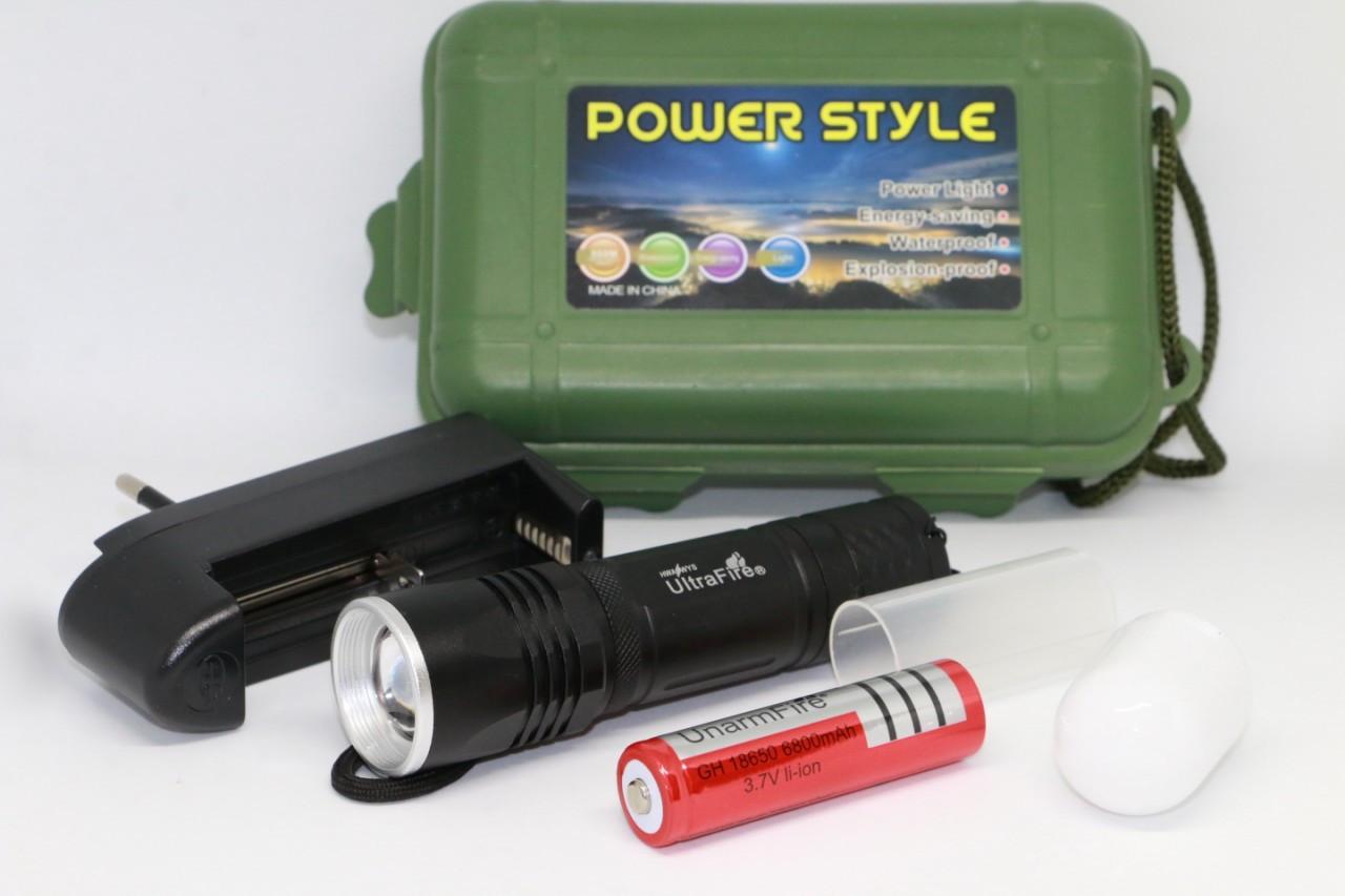 Ліхтарик ручний акумуляторний Ultrafire Wf-301
