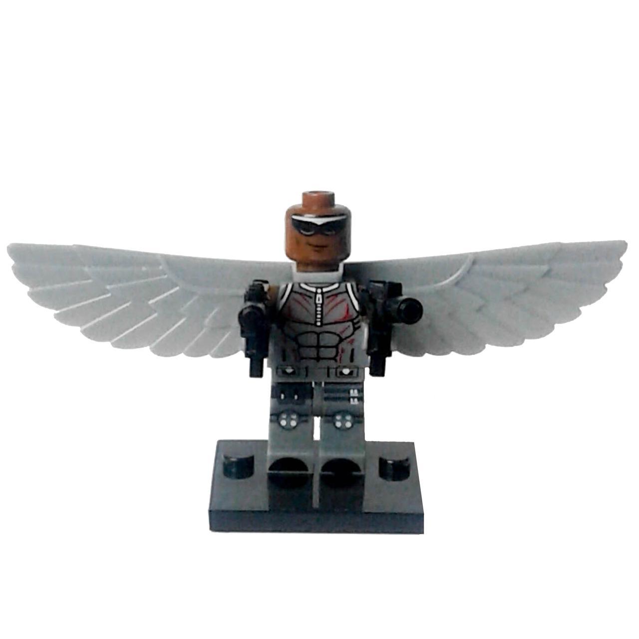 Сокол Супергерой Марвел Мстители Аналог лего