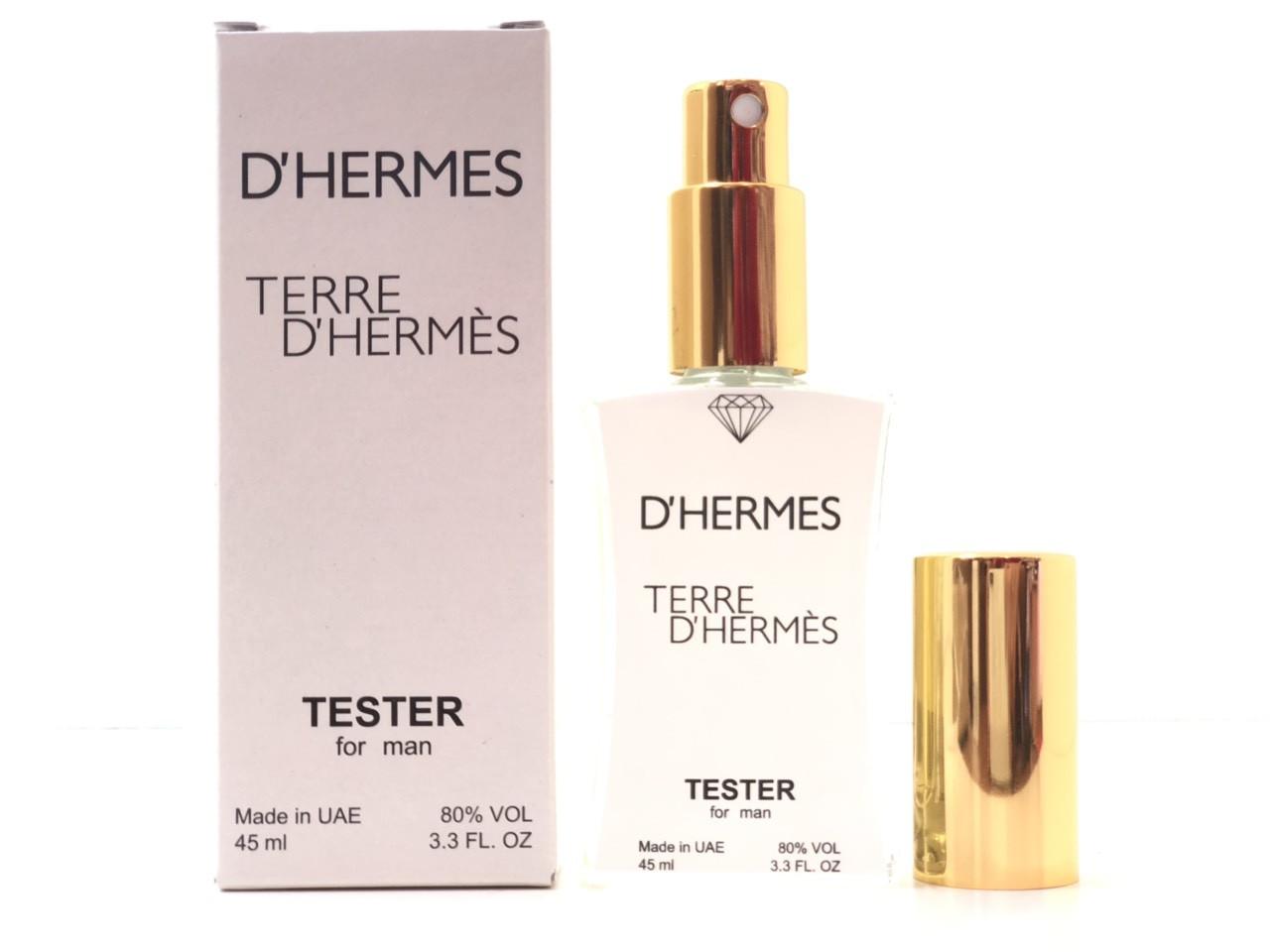 Мужской парфюм Hermes Terre D`Hermes (Гермес Терре Гермес) 45 мл Diamond - реплика