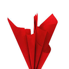 Бумага тишью темно-красная