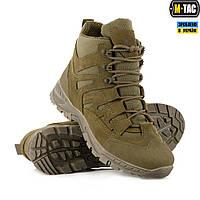 Ботинки полевые M-Tac PANTHER OLIVE олива