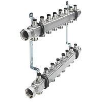 Коллектор для отопления TECEflex  на 8 выходов с запорными вентилями (712546)
