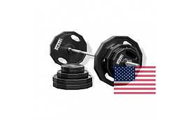 Олимпийский диск обрезиненный 1,25-2,5-5-10-20 кг BLAST USA